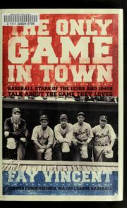 Cover of: The only game in town