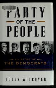 Cover of: Party of the people | Jules Witcover