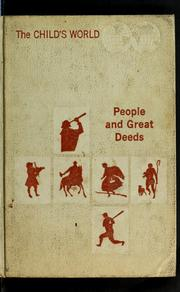 Cover of: People and great deeds | Esther M. Bjoland, Anne Neigoff