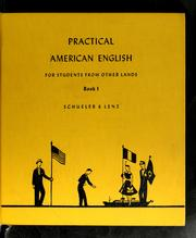 Cover of: Practical American English for students from other lands
