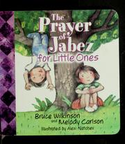 Cover of: The Prayer of Jabez for Little Ones