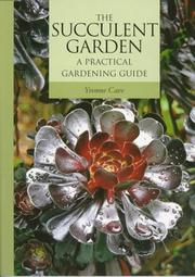 Cover of: The succulent garden