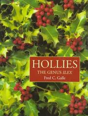 Cover of: Hollies | Fred C. Galle