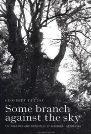Cover of: Some Branch Against the Sky | G. F. Dutton
