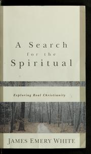 Cover of: A search for the spiritual