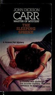Cover of: The sleeping sphinx