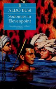 Cover of: Sodomies in elevenpoint