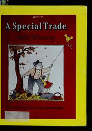 Cover of: A special trade | Sally Wittman
