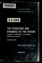 Cover of: The structure and dynamics of the psyche