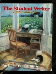 Cover of: The student writer