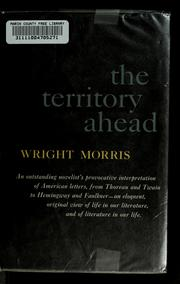 Cover of: The territory ahead