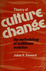 Cover of: Theory of culture change