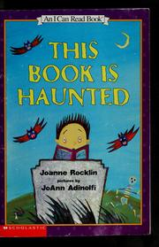 Cover of: This Book is Haunted