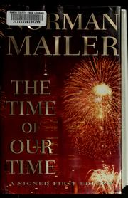 Cover of: The time of our time