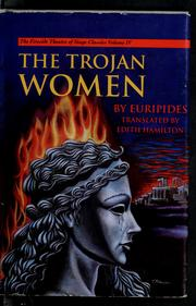 Cover of: Trojan women