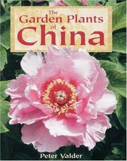 Cover of: The garden plants of China