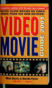 Cover of: Video movie guide, 2001