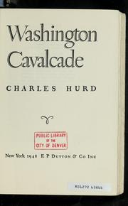 Cover of: Washington cavalcade