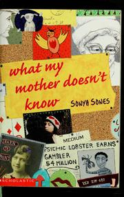 Cover of: What my mother doesn't know