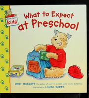 Cover of: What to expect at preschool