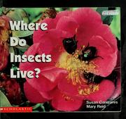 Cover of: Where do insects live?