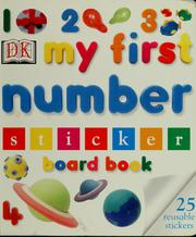 Cover of: 123 my first number sticker board book | Elizabeth Hester