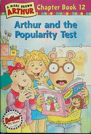 Arthur and the popularity test by Stephen Krensky