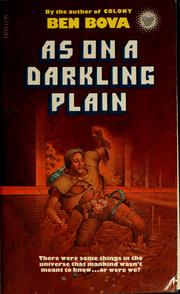 Cover of: As on a darkling plain