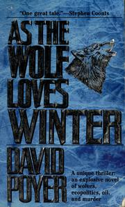 Cover of: As the wolf loves winter