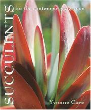 Cover of: Succulents for the contemporary garden