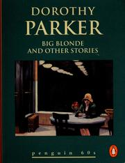 Cover of: Big Blonde and Other Stories