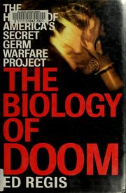 Cover of: The biology of doom