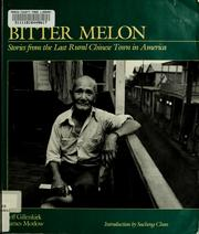 Cover of: Bitter melon | Jeff Gillenkirk