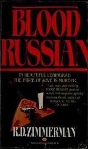 Cover of: Blood Russian | R. D. Zimmerman
