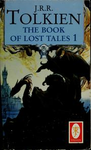 Cover of: The book of lost tales