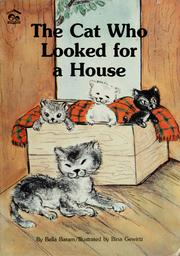 Cover of: The cat who looked for a house | Bella Baram