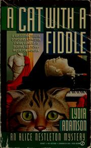 Cover of: A cat with a fiddle