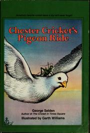 Cover of: Chester Cricket's pigeon ride | Jean Little