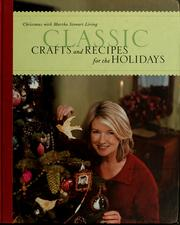 Cover of: Christmas with Martha Stewart living