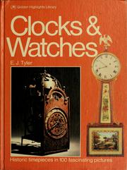 Cover of: Clocks and watches | E. J. Tyler