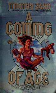 Cover of: A coming of age | Timothy Zahn
