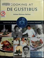 Cover of: Cooking at De Gustibus at Macy's