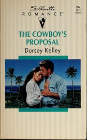 Cover of: The cowboy's proposal