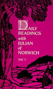 Cover of: Daily readings with Julian of Norwich