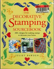 Cover of: The decorative stamping sourcebook