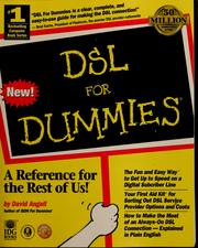 Cover of: DSL for dummies