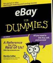 Ebay for dummies by Marsha Collier