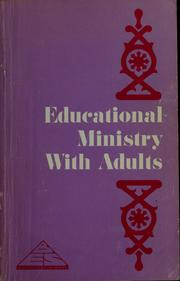 Cover of: Educational ministry with adults | Roy H. Ryan