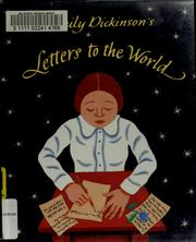 Cover of: Emily Dickinson's letters to the world
