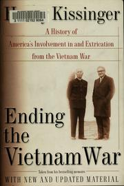 Cover of: Ending the Vietnam War